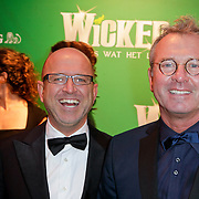 NLD/Scheveningen/20111106 - Premiere musical Wicked, Fred Butter en partner