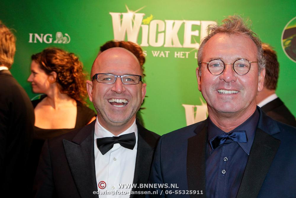 NLD/Scheveningen/20111106 - Premiere musical Wicked, Fred Butter en partner