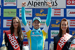 04.07.2011, AUT, 63. OESTERREICH RUNDFAHRT, 2. ETAPPE, INNSBRUCK-KITZBUEHEL, im Bild Fredrik Kessiakoff, (SWE, Pro Team Astana) // during the 63rd Tour of Austria, Stage 2, 2011/07/04, EXPA Pictures © 2011, PhotoCredit: EXPA/ S. Zangrando