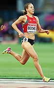 Great Britain, London - 2017 August 10: Selina Buchel from Switzerland competes in women&rsquo;s 800 meters qualification during IAAF World Championships London 2017 Day 7 at London Stadium on August 10, 2017 in London, Great Britain.<br /> <br /> Mandatory credit:<br /> Photo by &copy; Adam Nurkiewicz<br /> <br /> Adam Nurkiewicz declares that he has no rights to the image of people at the photographs of his authorship.<br /> <br /> Picture also available in RAW (NEF) or TIFF format on special request.<br /> <br /> Any editorial, commercial or promotional use requires written permission from the author of image.
