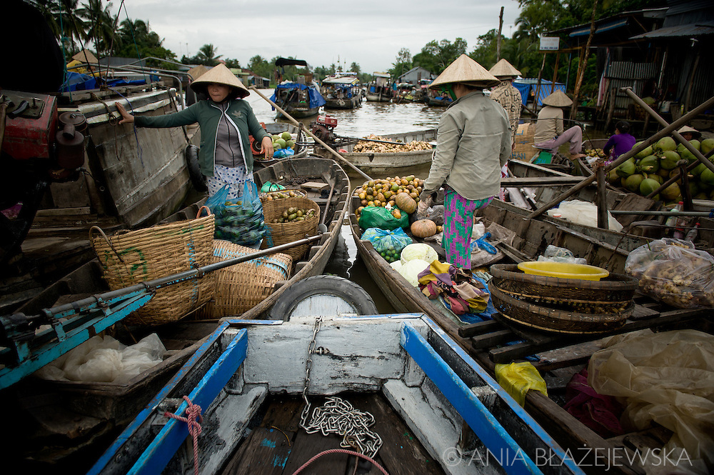 Vietnam, Mekong Delta. This southern region of Vietnam is popular tourist destinations of the country. People decide to visit it to see not only its biological life, but also its famous floating markets.