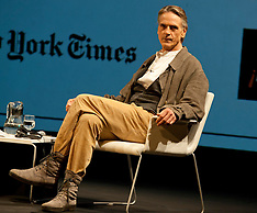 Jeremy Irons in Madrid 21-9-12