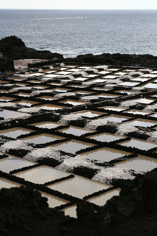 La Palma, Kanarische Inseln, Saline, Salz, Atlantischer Ozean,