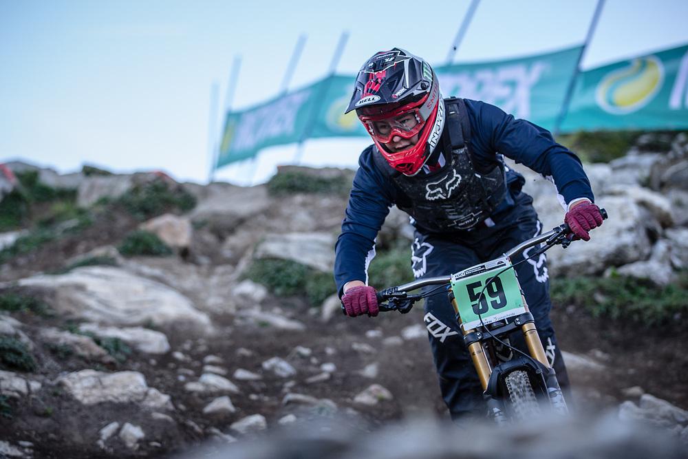 Cole Suetos (USA) at the 2018 UCI MTB World Championships - Lenzerheide, Switzerland