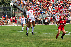 NORMAL, IL - August 10:  Alissa Ramsden during a nonconference exhibition women's soccer match between the Southern Illinois Edwardsville Cougars and the Illinois State Redbirds August 10 2019 on Adelaide Street Field in Normal IL (Photo by Alan Look)