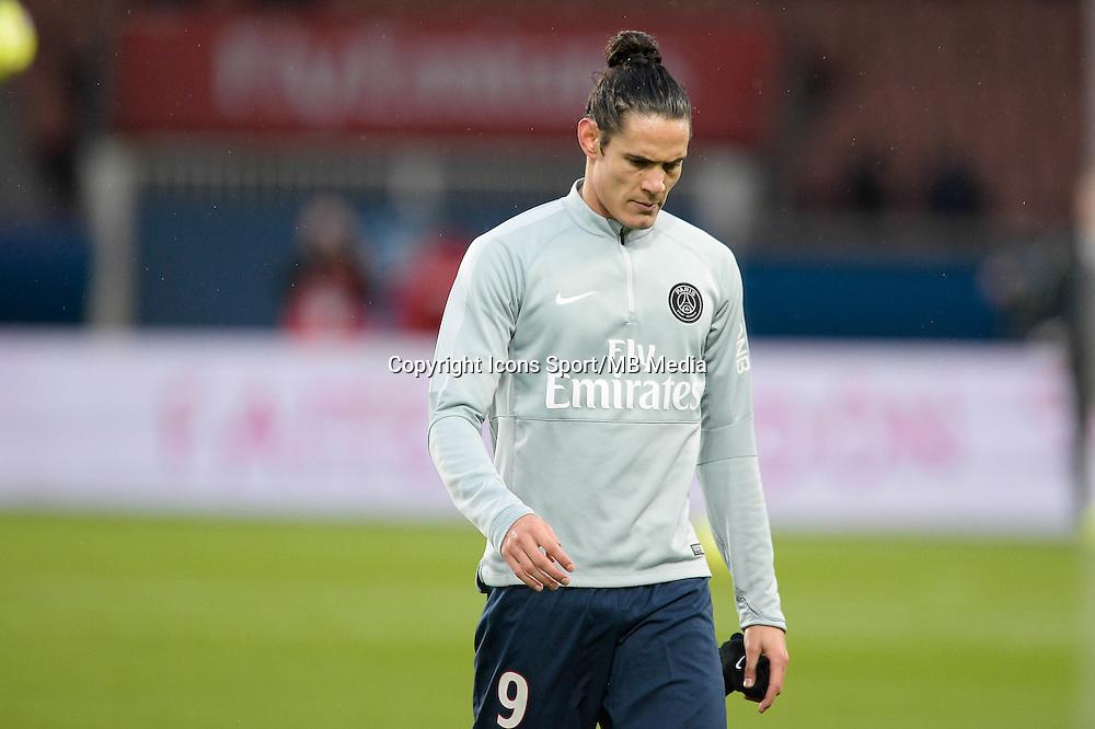 Edinson CAVANI - 20.12.2014 - Paris Saint Germain / Montpellier - 17eme journee de Ligue 1 -<br />Photo : Aurelien Meunier / Icon Sport