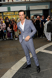 Image ©Licensed to i-Images Picture Agency. 08/07/2014. London, United Kingdom. Andrew Scott during the press night for 'The Curious Incident Of The Dog In The Night-Time' at Gielgud Theatre. Picture by Chris Joseph / i-Images