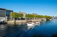 Boulogne-Billancourt, la Seine