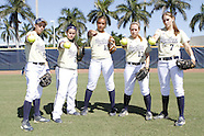 FIU Softball Senior Photo Shoot Unedited for Team Poster 2012