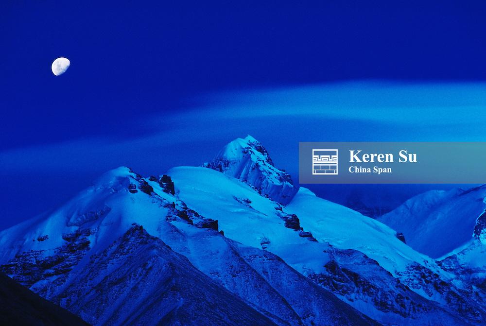Mt. Everest, Tibet, China
