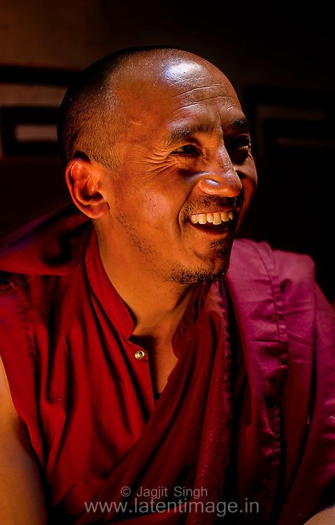 Lama at Hemis Monastery