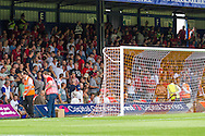 Royal Antwerp fans before the Pre Season Friendly match at Kenilworth Road, Luton<br /> Picture by David Horn/Focus Images Ltd +44 7545 970036<br /> 26/07/2014