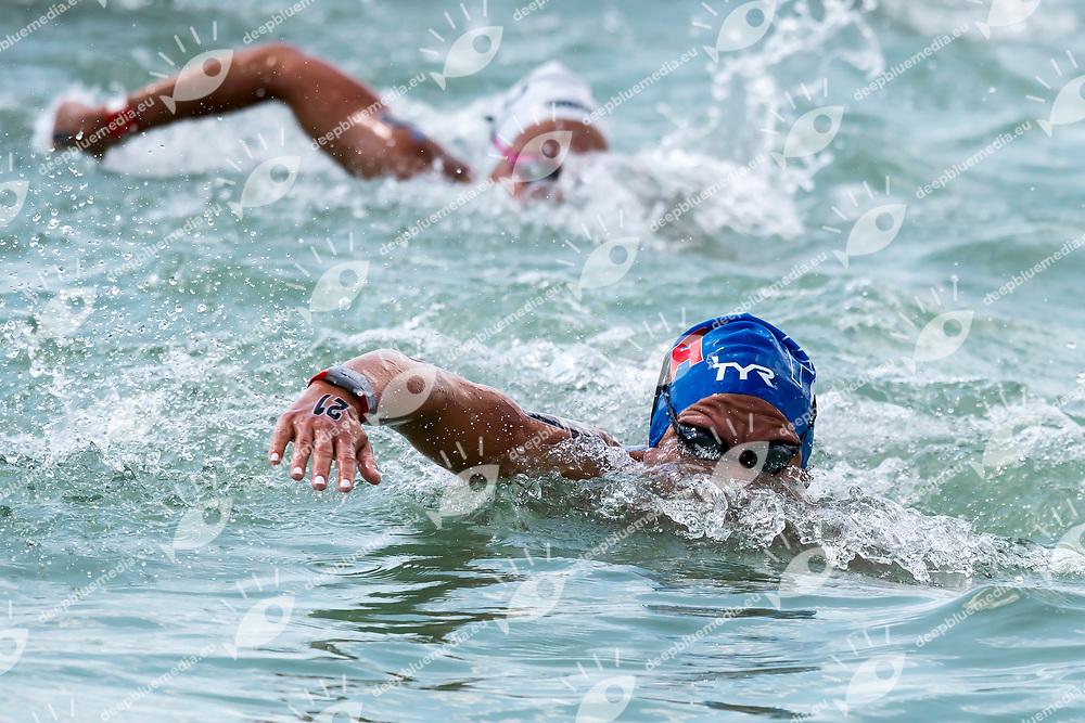 MULLER Amelie FRA Gold Medal <br /> Women's 10Km <br /> Open Water Swimming Balatonfured<br /> Day 03  16/07/2017 <br /> XVII FINA World Championships Aquatics<br /> Lake Balaton Budapest Hungary  <br /> Photo Andrea Staccioli/Deepbluemedia/Insidefoto