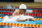 Julian Layton, New Zealand Open Swimming Champs, Day 1, West Wave Aquatic Center, Waitakere, Auckland. 14 April 2015. Copyright Photo: William Booth / www.photosport.co.nz