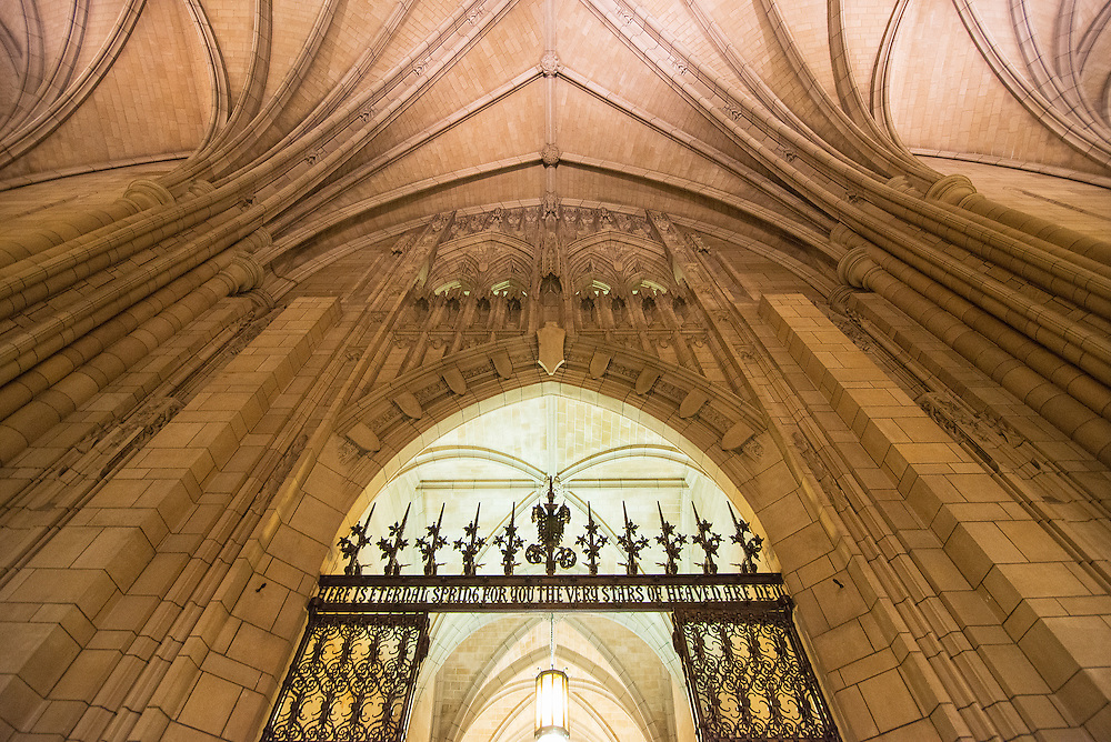 Cathedral of Learning, at the University of Pittsburgh,PA