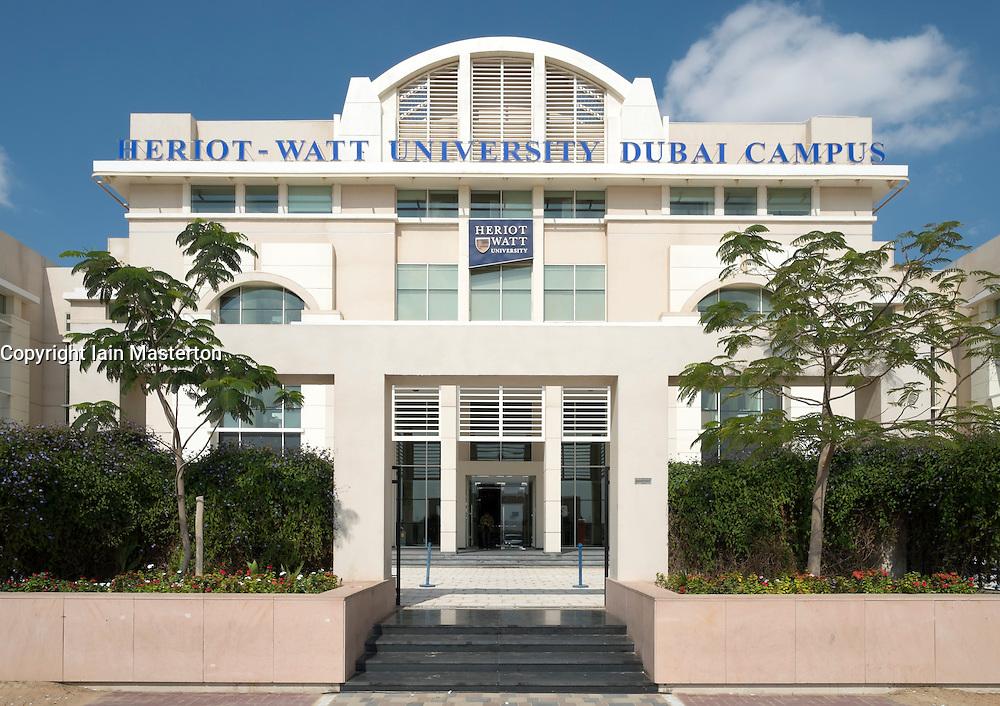 Heriot-Watt University Dubai Campuds United Arab Emirates