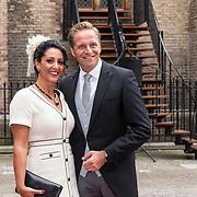 NLD/Den Haag/20190917 - Prinsjesdag 2019, Hugo de Jonge en partner Mireille de Jonge