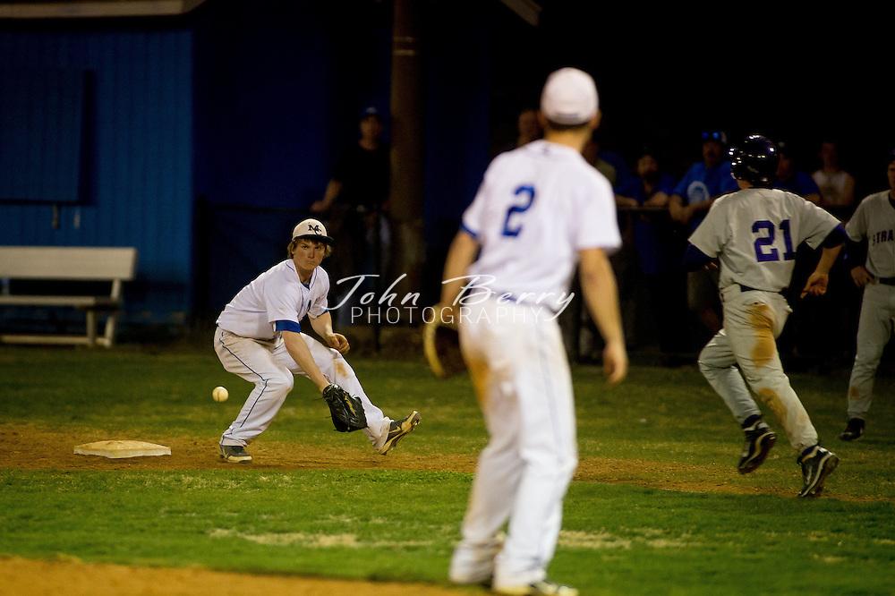 April/9/13:   MCHS Varsity Baseball vs Strasburg.