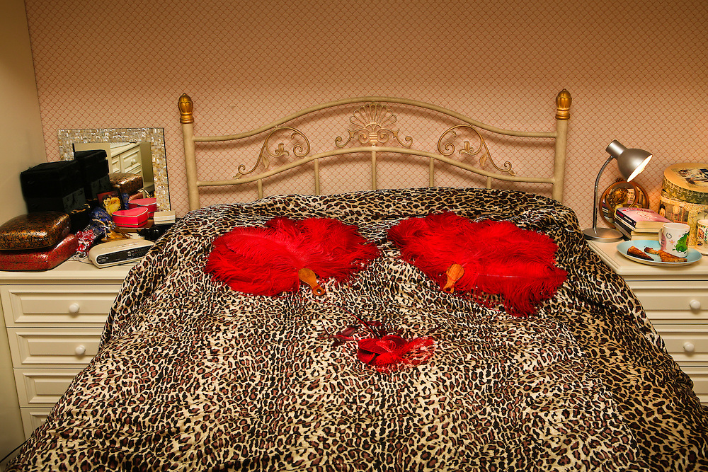 Burlesque Performer's Bedroom.