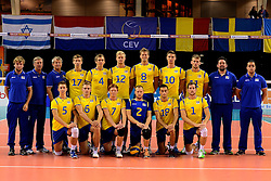 02-10-2013 VOLLEYBAL: WK KWALIFICATIE MANNEN ROMENIE - ZWEDEN: ALMERE<br /> Team Zweden<br /> ©2013-FotoHoogendoorn.nl