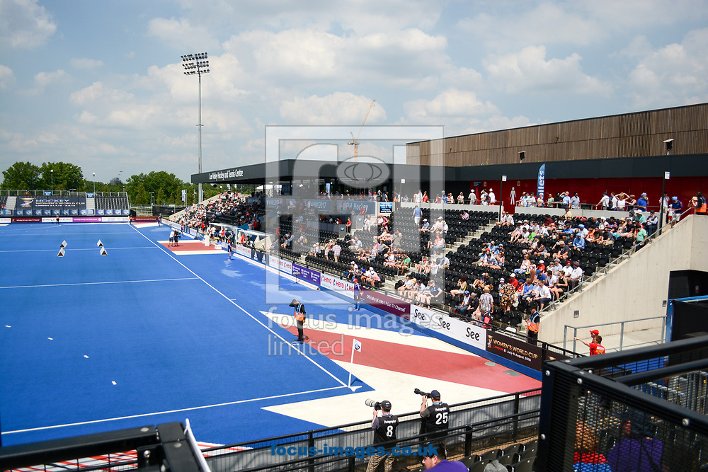 Lee Valley Hockey and Tennis centre on day four of the Men's Hero Hockey World League Semi-Finals at Lee Valley Hockey Centre, Stratford<br /> Picture by Hannah Fountain/Focus Images Ltd 07814482222<br /> 18/06/2017