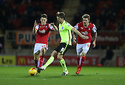 Brighton central midfielder, Dale Stephens (6) during the Sky Bet Championship match between Rotherham United and Brighton and Hove Albion at the New York Stadium, Rotherham, England on 12 January 2016.