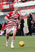 Hamilton Accademical defender Alex Gogic (13) in possession  during the Ladbrokes Scottish Premiership match between Hamilton Academical FC and Rangers at New Douglas Park, Hamilton, Scotland on 24 February 2019.