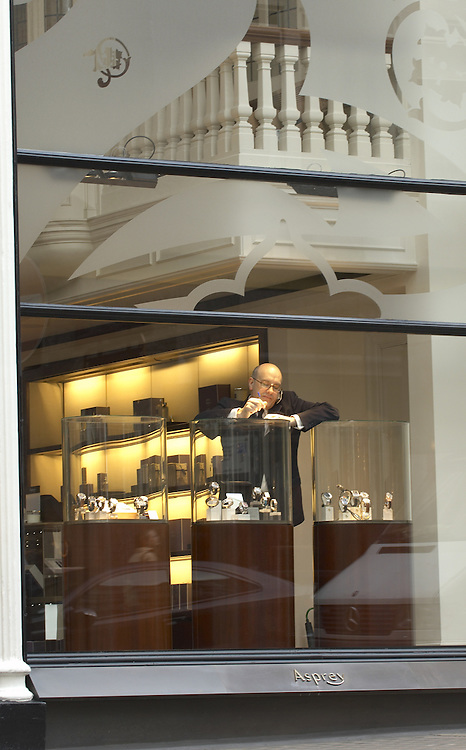 Asprey jewellery shop,  Bond Street, London