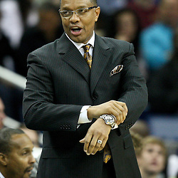 December 30, 2011; New Orleans, LA, USA; Phoenix Suns head coach Alvin Gentry against the New Orleans Hornets during the a game at the New Orleans Arena. The Suns defeated the Hornets 93-78.   Mandatory Credit: Derick E. Hingle-US PRESSWIRE