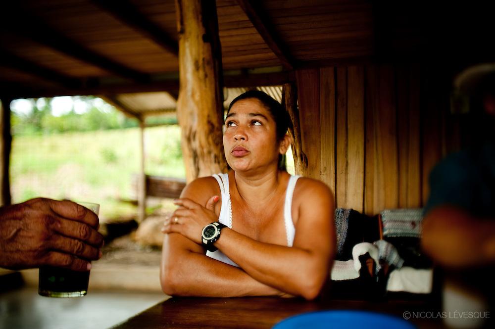 Maria Giovanni a été renvoyée après 3 mois. Monocultures d'ananas de la multinationale Del Monte. Buenos Aires, Costa Rica 2010.