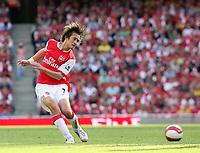 Photo: Chris Ratcliffe.<br />Arsenal v Middlesbrough. The Barclays Premiership. 09/09/2006.<br />Tomas Rosicky of Arsenal.