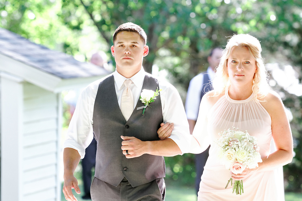 Kristal Rhodes and Jonathan Franklin wedding at Willow Pond Bed and Breakfast in Grand Junction, Colo., Saturday, June 30, 2018.<br /> <br /> Photo by Barton Glasser
