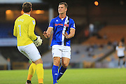 Harrison McGahey during the EFL Sky Bet League 1 match between Port Vale and Rochdale at Vale Park, Burslem, England on 16 August 2016. Photo by Daniel Youngs.