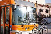 Metro Local Bus on Colorado Boulevard Pasadena