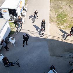 05-05-2020: Wielrennen: BMX KNWU: Papendal  <br />De Nederlandse BMX toppers werkten vandaag hun eerste training af na de lockdown op Papendal