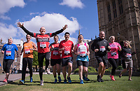 Pictures showing some of the Members of Parliament who will be running in the Virgin Money London Marathon on Sunday 23rd April 2017.<br /> A record 16 Members of Parliament are due to run in this year's Virgin Money London Marathon.<br /> Left to Right<br /> Amanda Solloway Conservative, Jonathon Djanogly Conservative, Graham Evans Conservative, Edward Timpson Conservative, Scott Mann Conservative, Chris Green Conservative,  Jon Ashworth Labour, Simon Danczuk Independant, Hannah Bardell SNP, Mims Davis Conservative,<br /> For more information please contact media@londonmarathonevents.co.uk<br /> <br /> Picture by Bob Martin for Virgin Media London Marathon