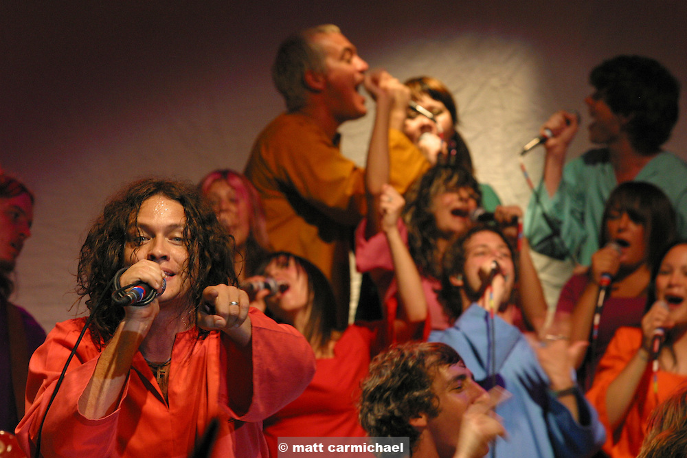The Polyphonic Spree live in concert in Chicago.