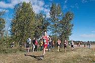 DII varsity boys race. Bob Firman Invitational, September 24, 2016 at Eagle Island State Park, Eagle, Idaho.