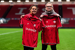 Half time shirt presentation - Mandatory by-line: Ryan Hiscott/JMP - 17/02/2020 - FOOTBALL - Ashton Gate Stadium - Bristol, England - Bristol City Women v Everton Women - Women's FA Cup fifth round