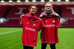 Half time shirt presentation - Mandatory by-line: Ryan Hiscott/JMP - 17/02/2020 - FOOTBALL - Ashton Gate Stadium - Bristol, England - Bristol City Women v Everton Women - Women's FA Cup fifth round