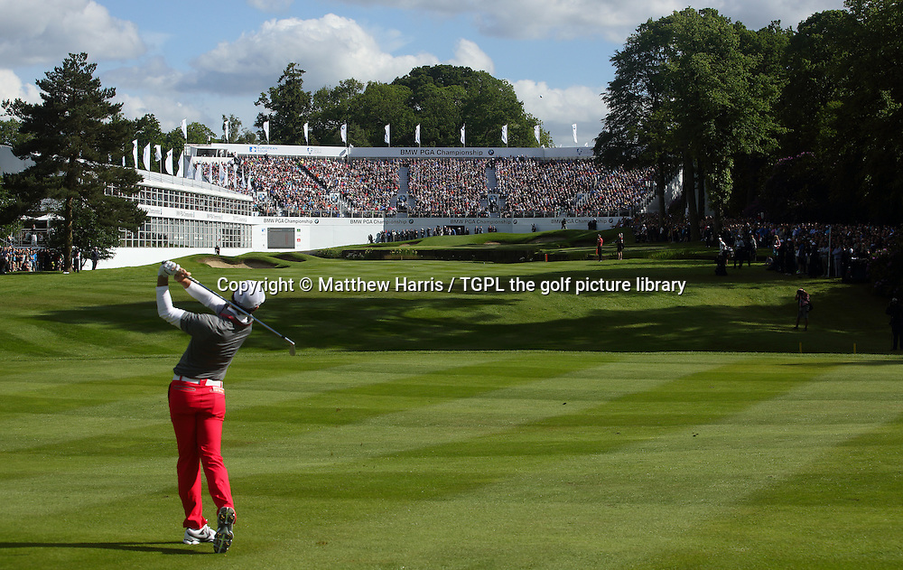 Rory MCILROY (NIR) during fourth round BMW PGA Championship 2014,Wentworth West,Wentworth,Virginia Water,Surrey,England.