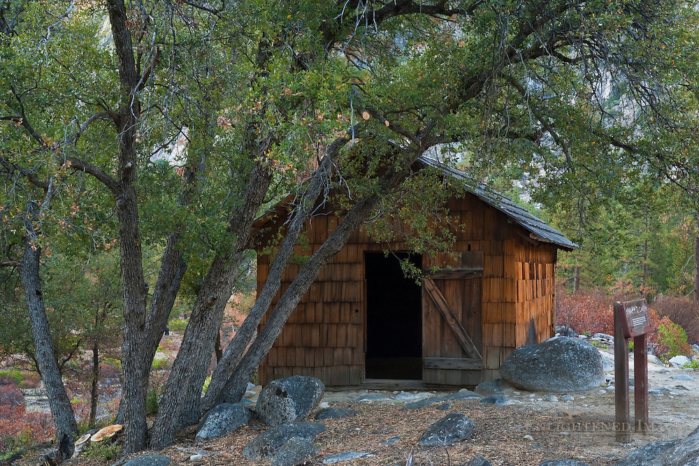 Knapp's Cabin, near Cedar Grove, Kings Canyon National Park, California