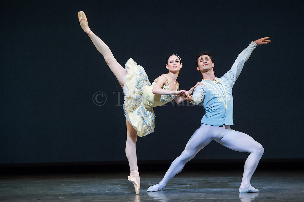 Divertimento, choreographed by George Balanchine and part of San Francisco Ballet's much anticipated season at Sadler's Wells, London, Autumn 2012.