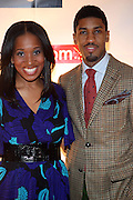 l to r: Malikha Mallette and Fonzworth Bently at The Men of Style Awards presented by Gillette Fusion and Rolling Out Urbanstyle Weekly held at the 40/40 Club on Novemeber 2, 2009 in New York City