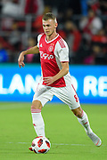 Ajax midefielder Daley Sinkgraven (8) in action during a Florida Cup match against Flamengo at Orlando City Stadium on Jan. 10, 2019 in Orlando, Florida. <br /> Flamengo won in penalties 4-3.<br /> <br /> ©2019 Scott A. Miller