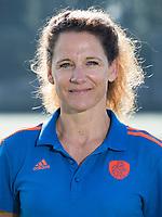 UTRECHT - manager Fleur Reinigert-van der Kieft. Jong Oranje dames voor EK 2017 in Valencia. COPYRIGHT KOEN SUYK