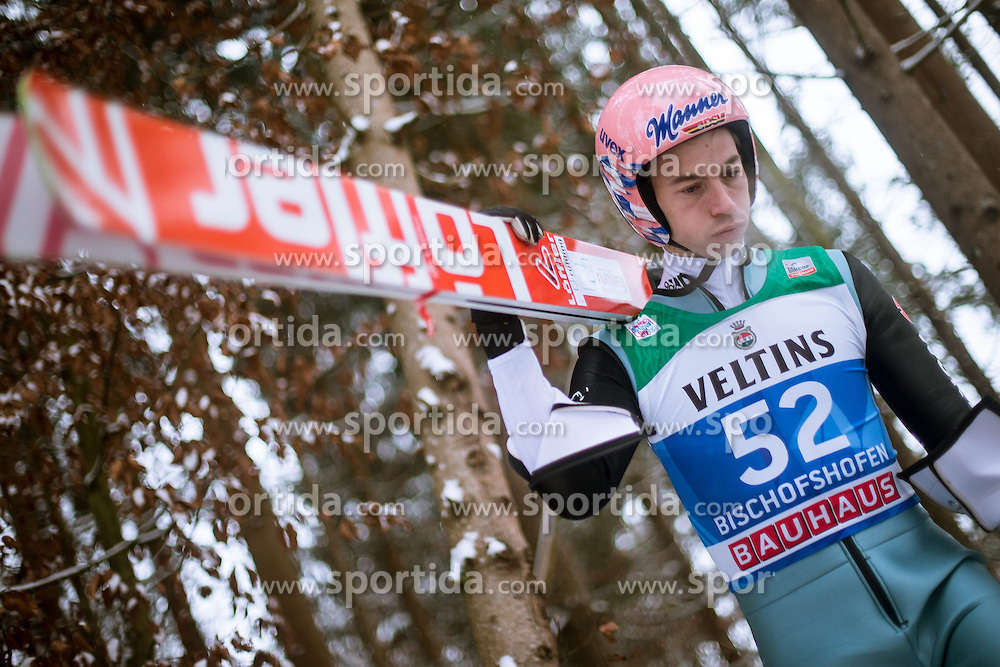 05.01.2015, Paul Ausserleitner Schanze, Bischofshofen, AUT, FIS Ski Sprung Weltcup, 63. Vierschanzentournee, Training, im Bild Michael Neumayer (GER) // during Training of 63rd Four Hills <br /> Tournament of FIS Ski Jumping World Cup at the Paul Ausserleitner Schanze, Bischofshofen, Austria on 2015/01/05. EXPA Pictures &copy; 2015, PhotoCredit: EXPA/ JFK