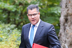 © Licensed to London News Pictures. 29/10/2019. London, UK. Secretary of State for International Development ALOK SHARMA arrives in Downing Street to attend the weekly cabinet meeting. Photo credit: Dinendra Haria/LNP