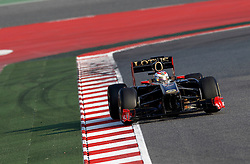 Motorsports / Formula 1: World Championship 2011, Testing in Barcelona, test, 10 Vitaly Petrov (RUS, Renault F1 Team),