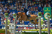 Thierry ROZIER (FRA) riding Venezia d'Ecaussinnes during the World Equestrian Festival, CHIO of Aachen 2018, on July 13th to 22th, 2018 at Aachen - Aix la Chapelle, Germany - Photo Thomas Reiner / SpainProSportsImages / DPPI / ProSportsImages / DPPI